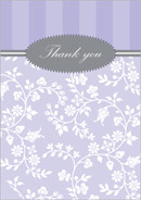 Harmony wedding stationery thank you card