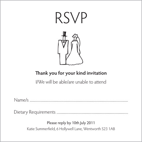 Wedding invitation wording limited seating stopboris Gallery